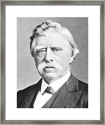 David Hughes Framed Print by Science Photo Library