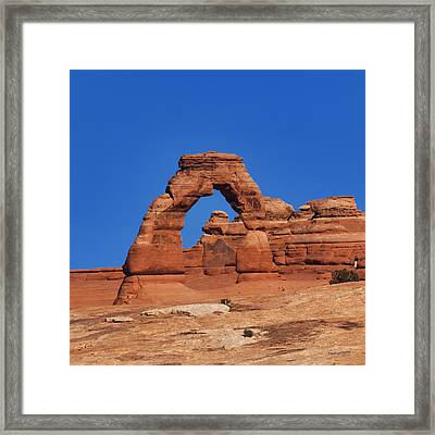 Delicate Arch Framed Print by Jim Lucas