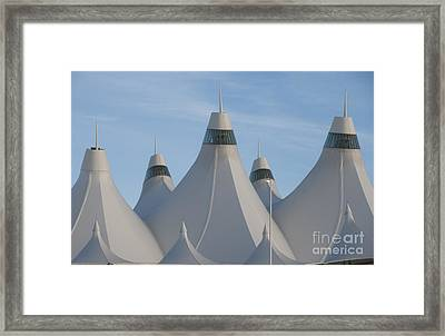 Denver International Airport Framed Print by Juli Scalzi