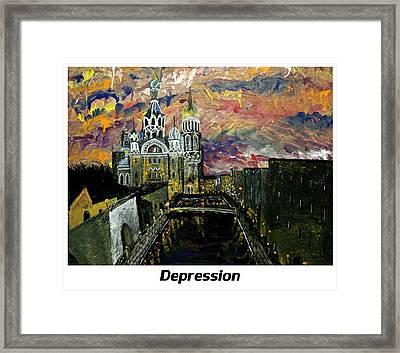 Depression  Framed Print by Mark Moore