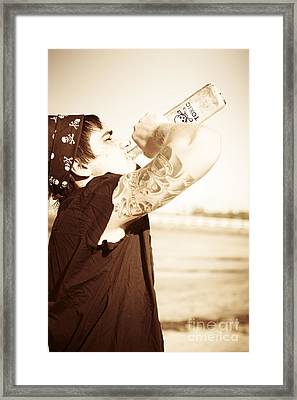 Depression Framed Print by Jorgo Photography - Wall Art Gallery