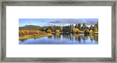Deschutes River Framed Print by Twenty Two North Photography
