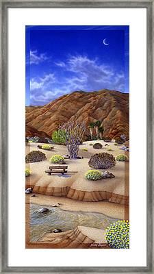 Desert Vista 3 Framed Print by Snake Jagger