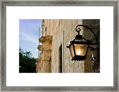 Details On The Alamo, San Antonio Framed Print by Brian Jannsen