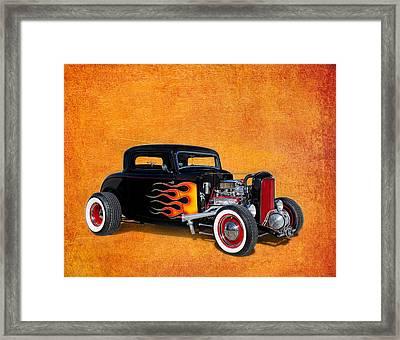 Deuce Coupe 1932 Ford Framed Print by Robert Jensen
