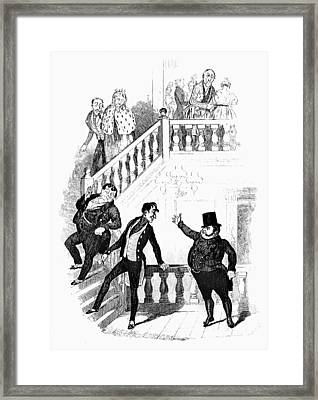 Dickens Pickwick Papers Framed Print by Granger