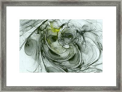Dimension Framed Print by Stefan Kuhn