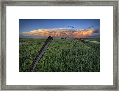 Distant Color Framed Print by Thomas Zimmerman