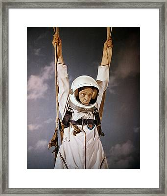 Don Knotts In The Reluctant Astronaut  Framed Print by Silver Screen