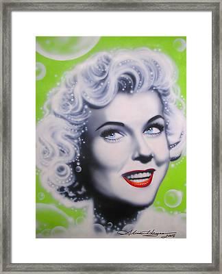 Doris Day Framed Print by Alicia Hayes