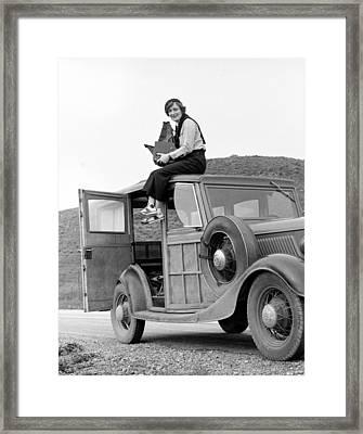 Dorothea Lange, Resettlement Framed Print by Everett