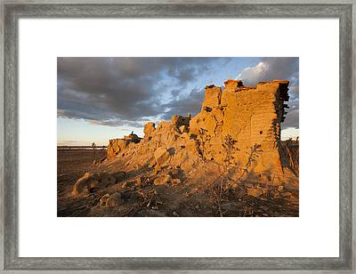 Dovecote In Ruins Framed Print by Ruben Vicente