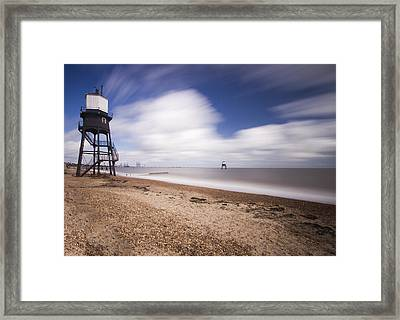 Dovercourt Essex Lighthouse  Framed Print by David French