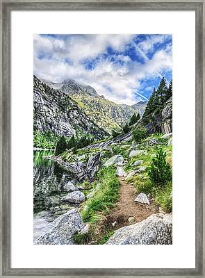 Down To The River Framed Print by Tilyo Rusev
