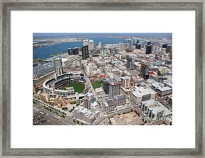 Downtown San Diego Framed Print by Bill Cobb