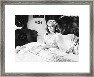 Dr. Jekyll And Mr. Hyde, Lana Turner Framed Print by Everett