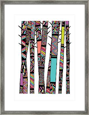 Dream Forest Framed Print by Susan Claire