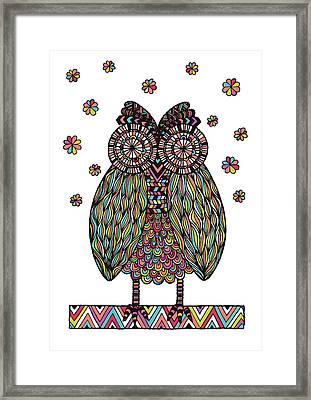 Dream Owl Framed Print by Susan Claire