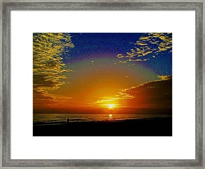 Dream Time Framed Print by Russell Jenkins