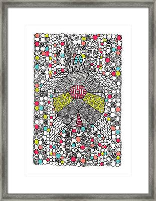 Dream Turtle Framed Print by Susan Claire
