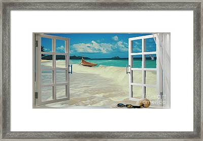 Dreamscape Framed Print by Cheryl Young