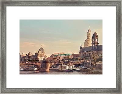 Dresden Framed Print by Steffen Gierok