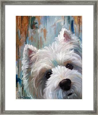 Drip Framed Print by Mary Sparrow