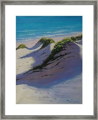 Dune Shadows Framed Print by Graham Gercken