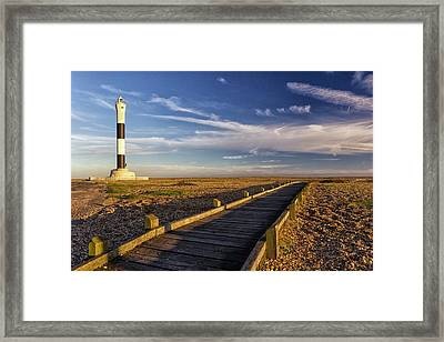 Dungeness Lighthouse Framed Print by Ian Hufton