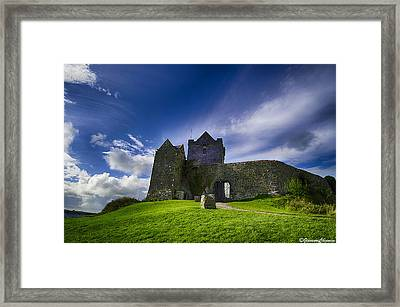 Dunguaire Castle Ireland Framed Print by Giovanni Chianese