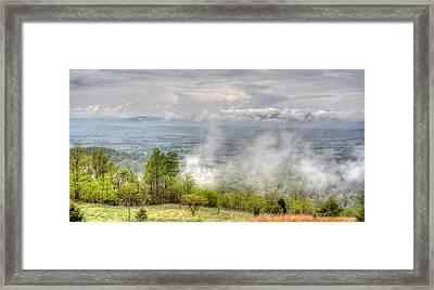 Dunlap Valley Framed Print by David Troxel