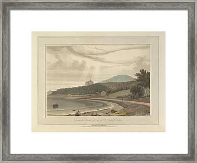 Dunrobin Castle In Sutherland Framed Print by British Library
