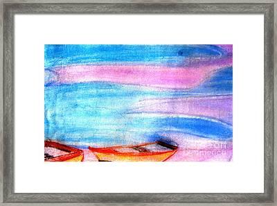 Early Morning Framed Print by Duygu Kivanc