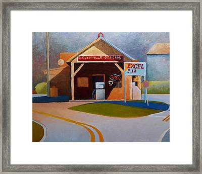 Earlysville General Store No. 2 Framed Print by Catherine Twomey