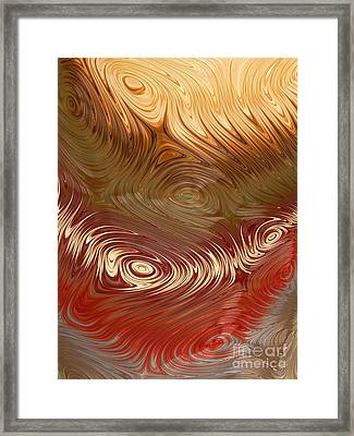Earth Tones Framed Print by Heidi Smith