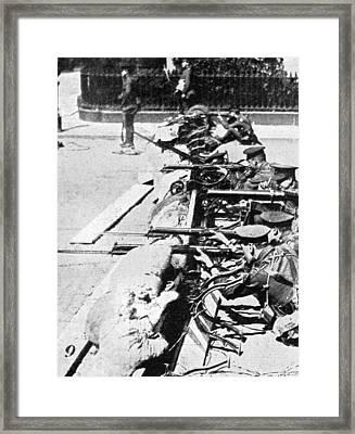 Easter Rebellion, 1916 Framed Print by Granger
