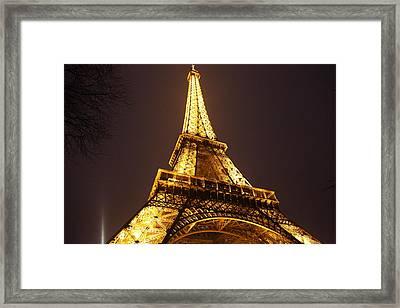 Eiffel Tower - Paris France - 011315 Framed Print by DC Photographer