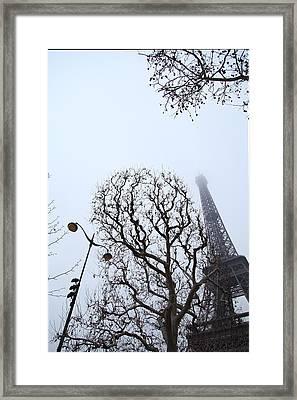 Eiffel Tower - Paris France - 011317 Framed Print by DC Photographer