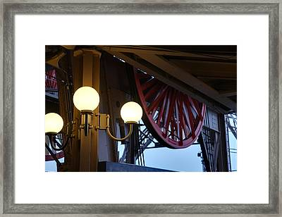 Eiffel Tower - Paris France - 01139 Framed Print by DC Photographer