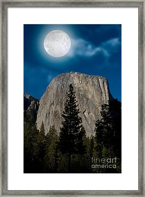 El Capitan, Yosemite Np Framed Print by Mark Newman