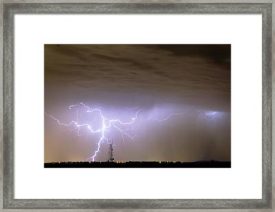 Electric Night Framed Print by James BO  Insogna