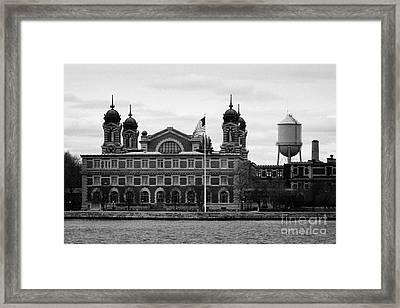 Ellis Island New York City Framed Print by Joe Fox