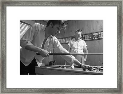 Elvis Presley With His Father Vernon 1956 Framed Print by The Phillip Harrington Collection