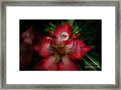 Emilia Clarke Framed Print by Marvin Blaine