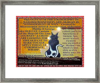 Enigmatic Framed Print by Phillip H George
