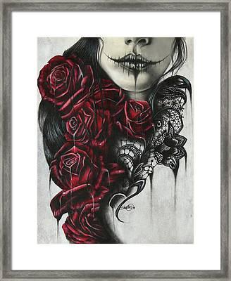 Entrap  Framed Print by Sheena Pike
