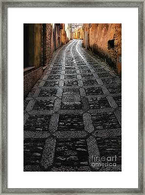 Erice Sicily Framed Print by Mike Nellums