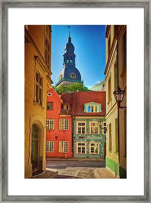 Europe, Estonia, Tallinn Framed Print by Jaynes Gallery
