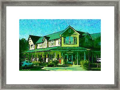 Evans Ranch Los Olivos California Framed Print by Barbara Snyder