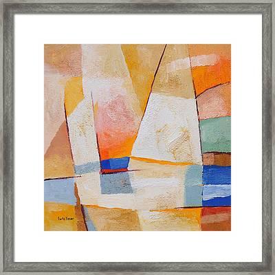Evening Sails Framed Print by Lutz Baar